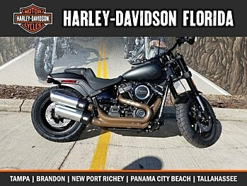 2018 Harley-Davidson Softail Fat Bob for sale 200525315