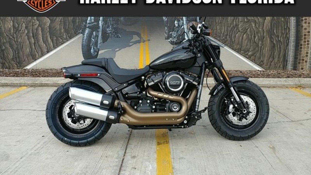 2018 Harley-Davidson Softail Fat Bob for sale 200525337