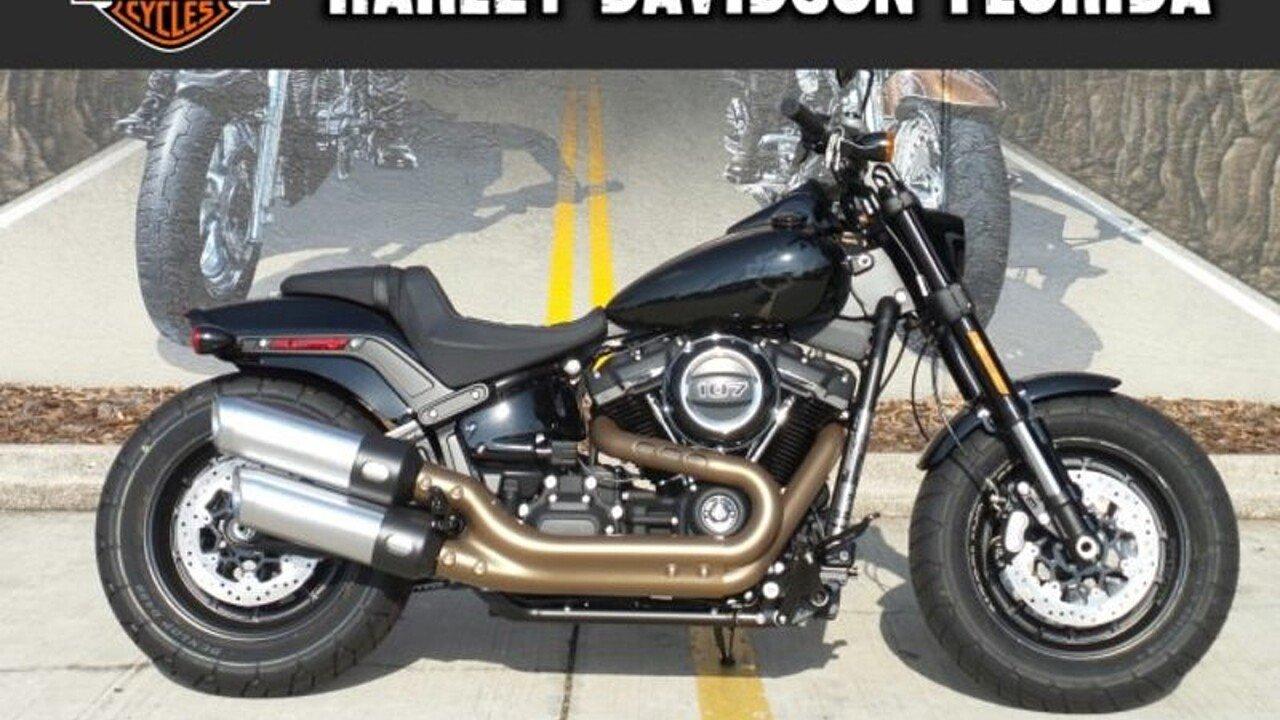 2018 Harley-Davidson Softail Fat Bob for sale 200525337
