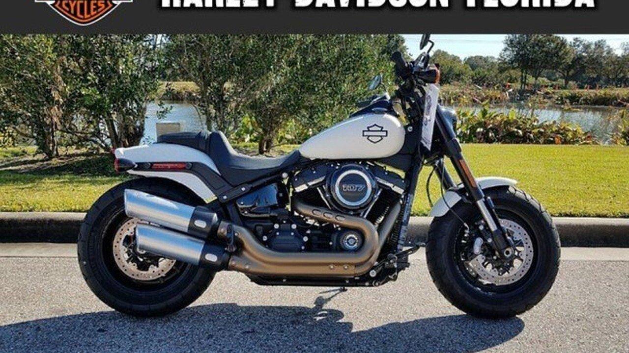 2018 Harley-Davidson Softail Fat Bob for sale 200525943