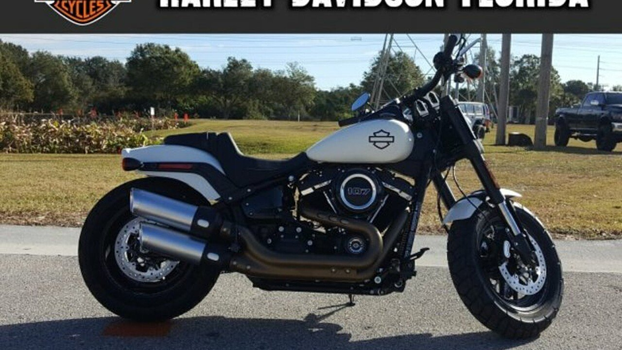 2018 Harley-Davidson Softail Fat Bob for sale 200525957