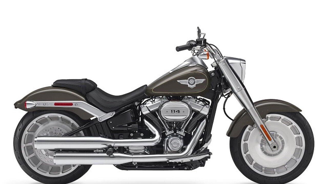 2018 Harley-Davidson Softail Fat Boy 114 for sale 200533536