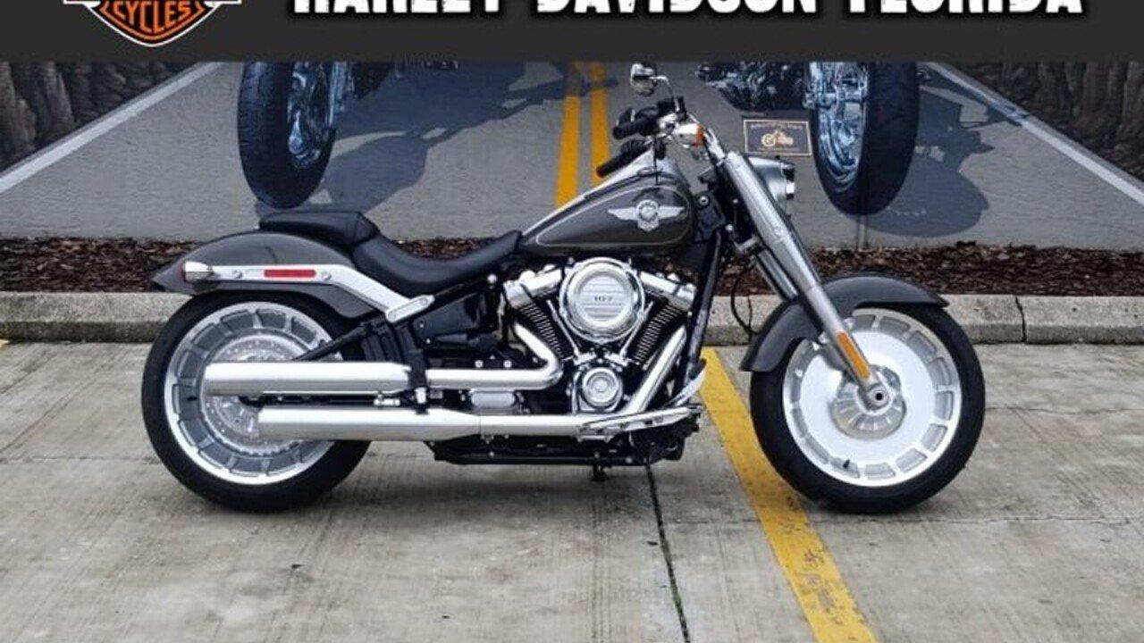 2018 Harley-Davidson Softail Fat Boy for sale 200598817