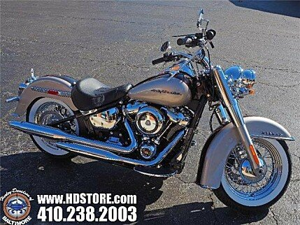 2018 Harley-Davidson Softail Deluxe for sale 200586300
