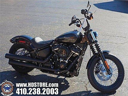 2018 Harley-Davidson Softail Street Bob for sale 200592021