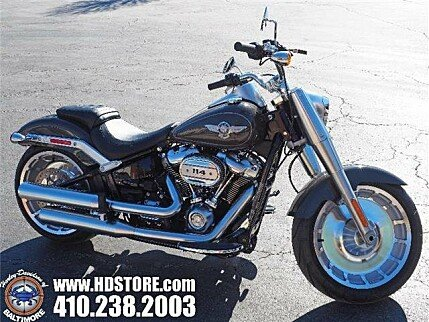 2018 Harley-Davidson Softail Fat Boy 114 for sale 200620338