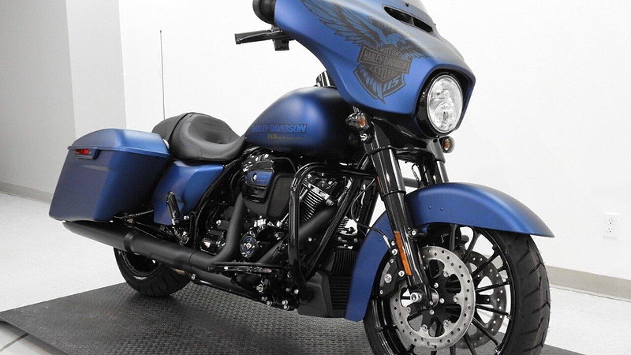 2018 Harley-Davidson Touring 115th Anniversary Street ...