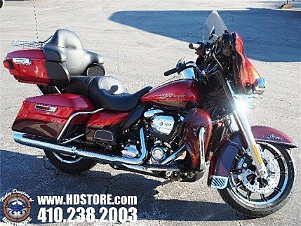 2018 Harley-Davidson Touring Ultra Limited for sale 200550507