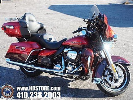 2018 Harley-Davidson Touring Ultra Limited for sale 200573381