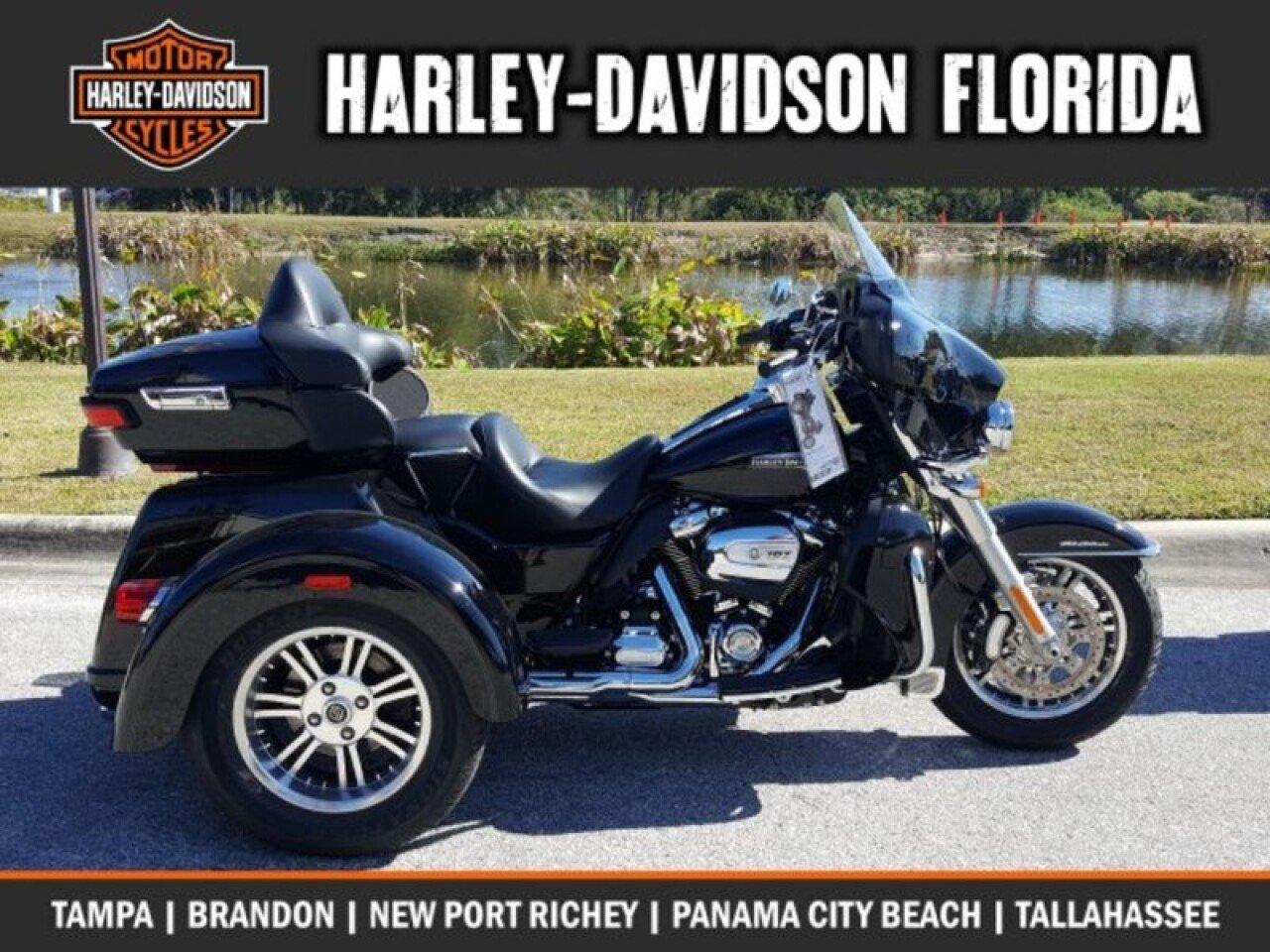 2018 Harley Davidson Trike Tri Glide Ultra For Sale Near