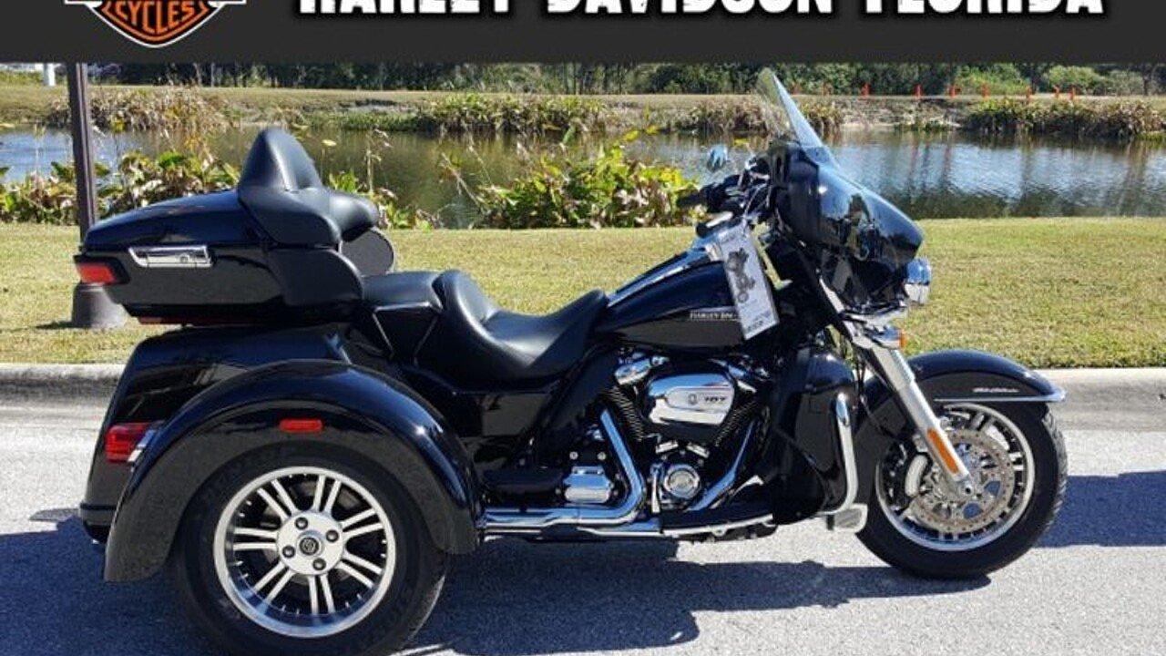 2018 harley davidson trike tri glide ultra for sale near tampa florida 33619 motorcycles on. Black Bedroom Furniture Sets. Home Design Ideas