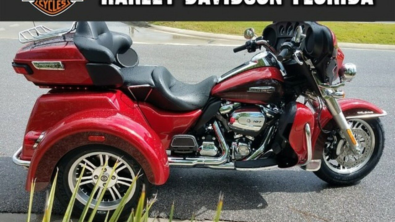 Harley Davidson 2017 Tri Glide Ultra Price Specs Review: 2018 Harley-Davidson Trike Tri Glide Ultra For Sale Near