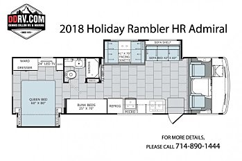 2018 Holiday Rambler Admiral for sale 300153592
