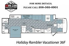 2018 Holiday Rambler Vacationer for sale 300158252