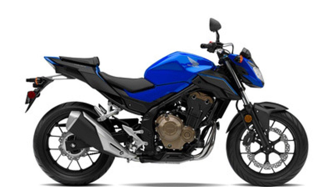 2018 Honda CB500F for sale 200529248