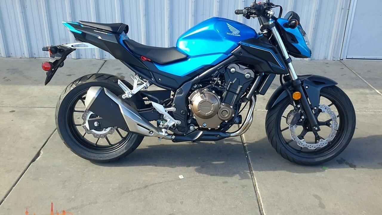 2018 Honda CB500F for sale 200529459