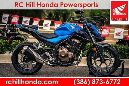 2018 Honda CB500F for sale 200532448