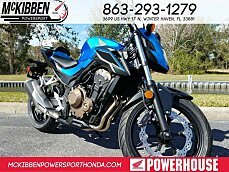 2018 Honda CB500F for sale 200588794