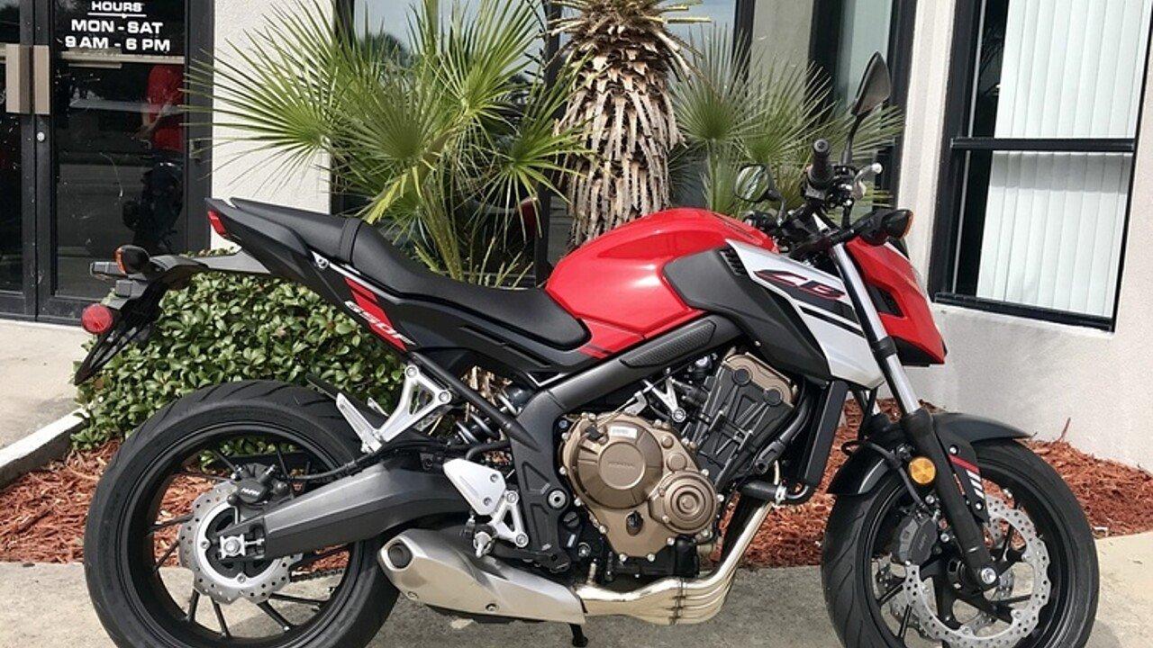 2018 Honda CB650F for sale 200571070