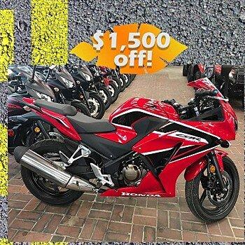 2018 Honda CBR300R for sale 200545582