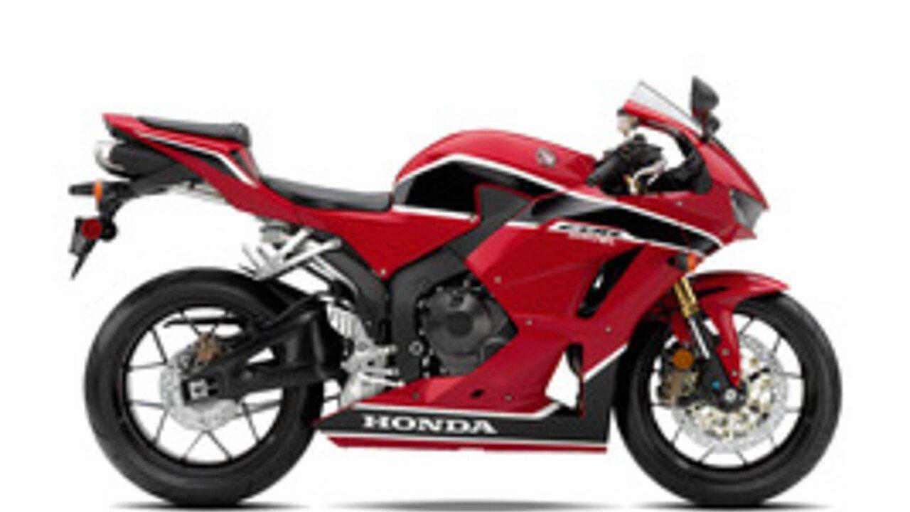 2018 Honda CBR600RR for sale 200530351