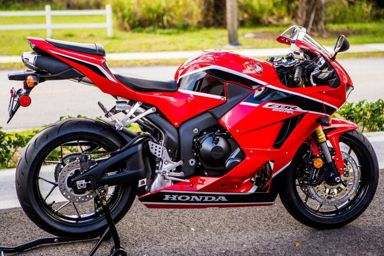 Honda cbr600rr 2018