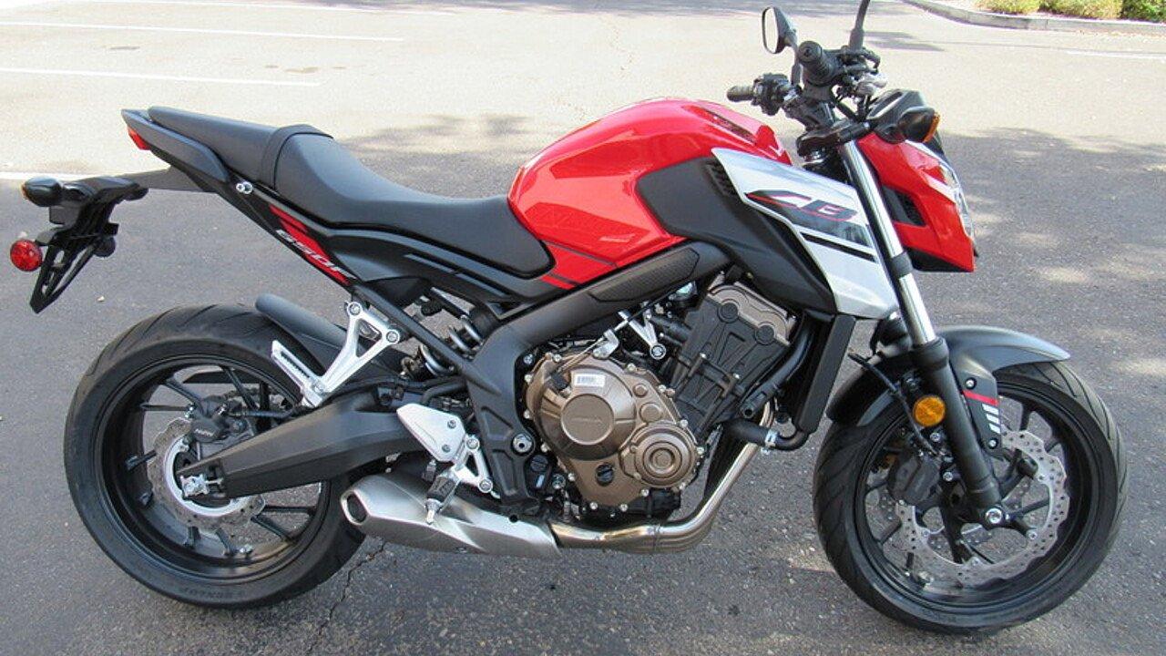 2018 Honda CBR650F for sale 200521051