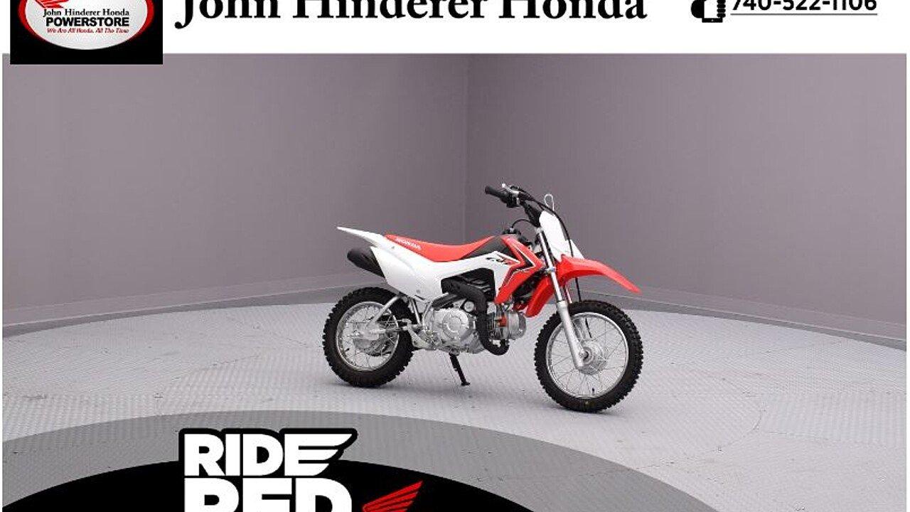 2018 Honda CRF110F for sale 200499004