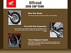 2018 Honda CRF150R for sale 200483488