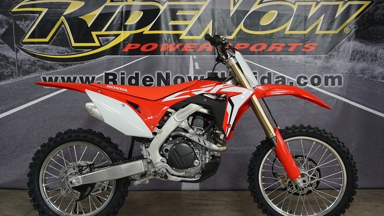 2018 Honda CRF450R for sale 200581543