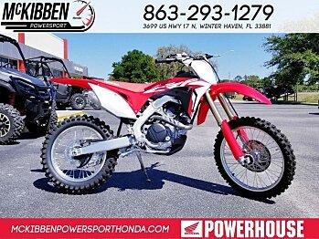 2018 Honda CRF450R for sale 200588602