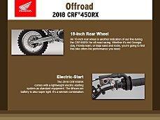 2018 Honda CRF450R for sale 200633762