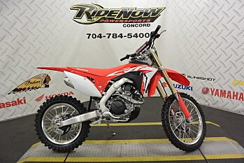 2018 Honda CRF450RX for sale 200492279