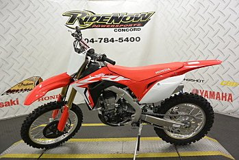 2018 Honda CRF450RX for sale 200522530