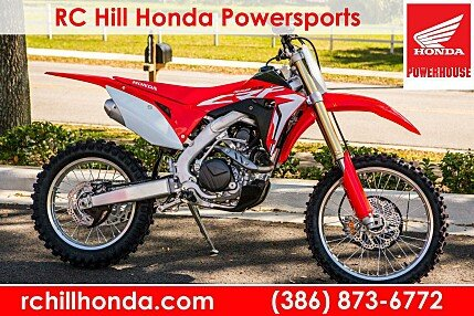 2018 Honda CRF450RX for sale 200580099