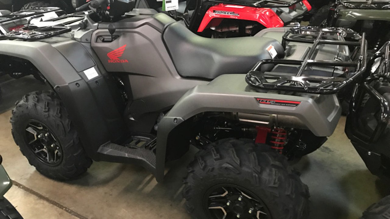 2018 Honda FourTrax Foreman Rubicon for sale 200501888