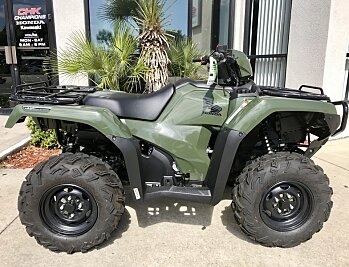 2018 Honda FourTrax Foreman Rubicon 4x4 EPS for sale 200571026