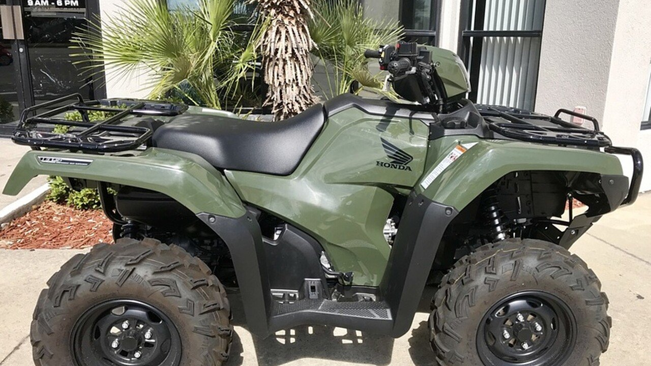 2018 Honda FourTrax Foreman Rubicon 4x4 Automatic EPS for sale 200571240