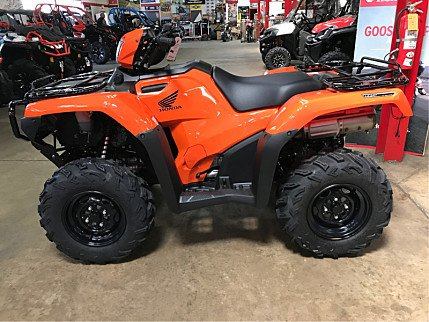2018 Honda FourTrax Foreman Rubicon for sale 200501885