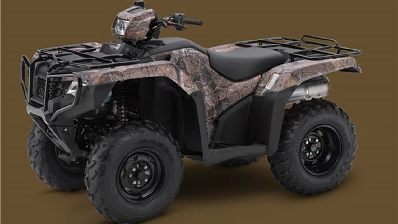 2018 Honda FourTrax Foreman for sale 200525521