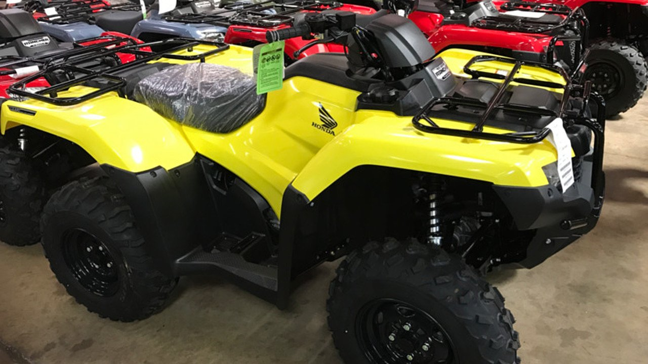 2018 Honda FourTrax Rancher for sale 200501834
