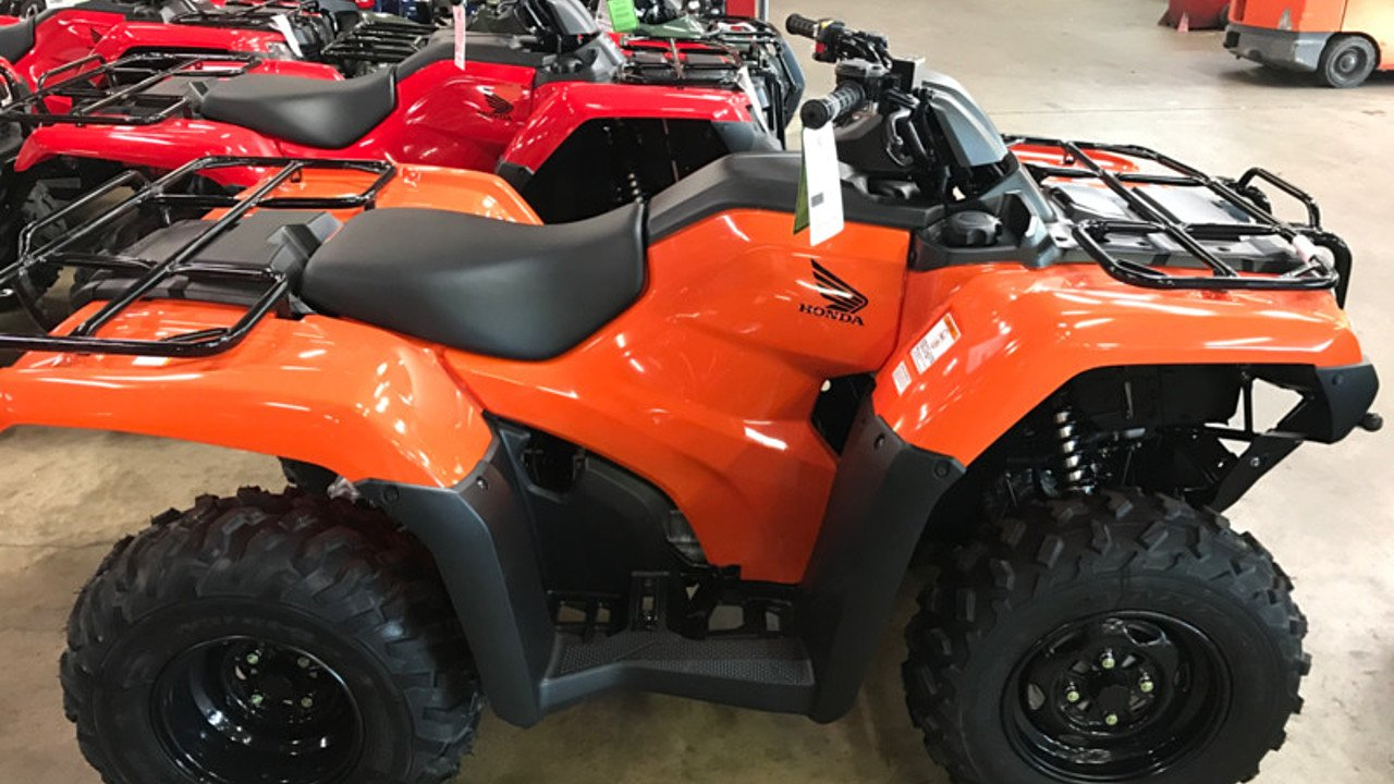2018 Honda FourTrax Rancher for sale 200502246