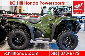 2018 Honda FourTrax Rancher for sale 200533144