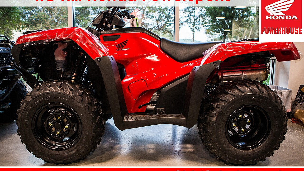 2018 Honda FourTrax Rancher for sale 200546965