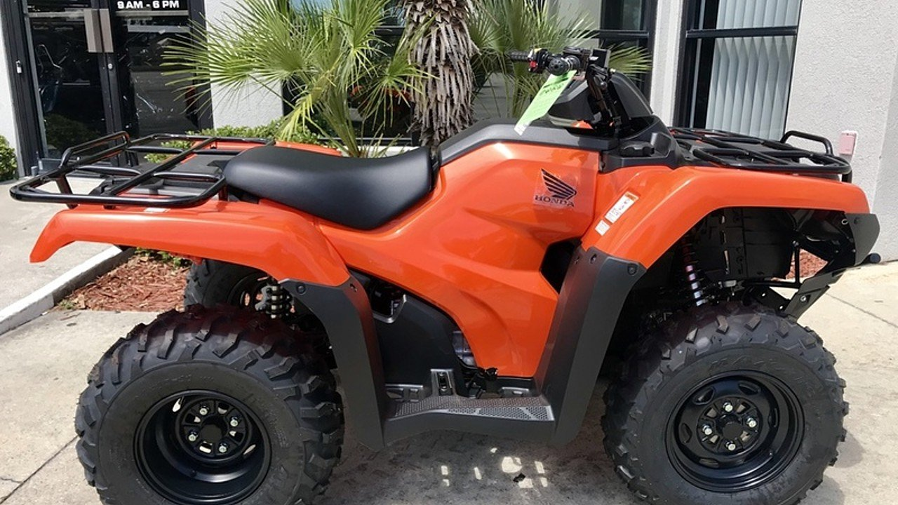 2018 Honda FourTrax Rancher for sale 200571093
