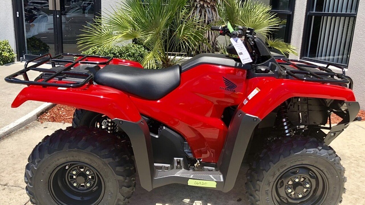 2018 Honda FourTrax Rancher for sale 200571205