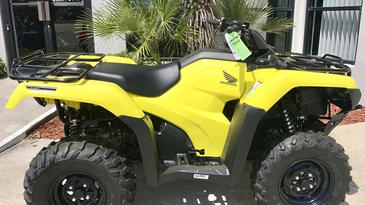2018 Honda FourTrax Rancher 4x4 Automatic IRS EPS for sale 200571238