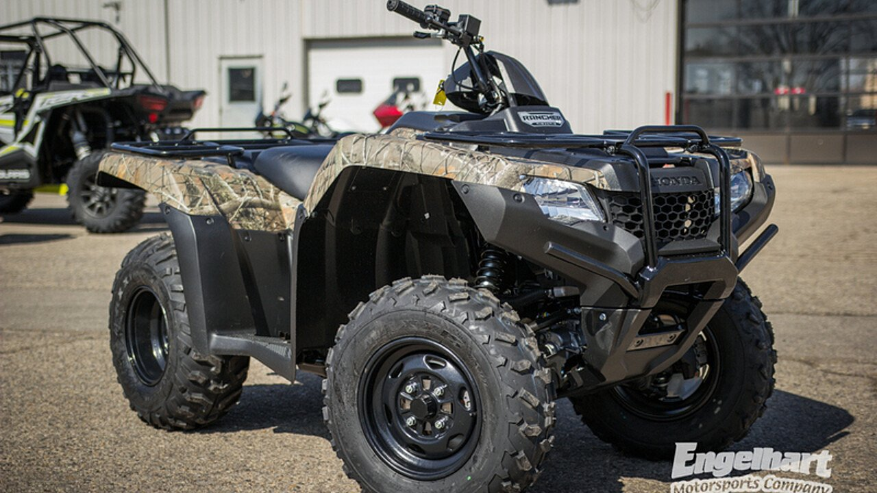 2018 Honda FourTrax Rancher 4x4 ES for sale 200582191