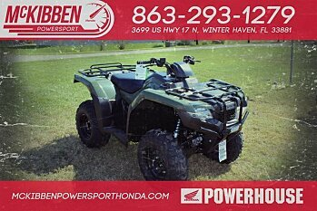 2018 Honda FourTrax Rancher for sale 200588737