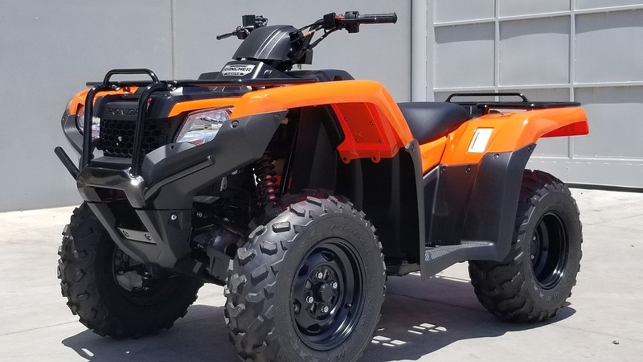 2018 Honda FourTrax Rancher for sale 200599357